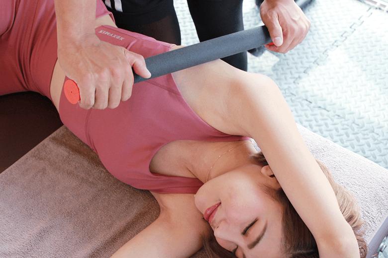ポイント1 筋膜リリース × パーソナルトレーニング